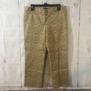 J CREW 6 Cropped Chinos Khakis Dress Pants